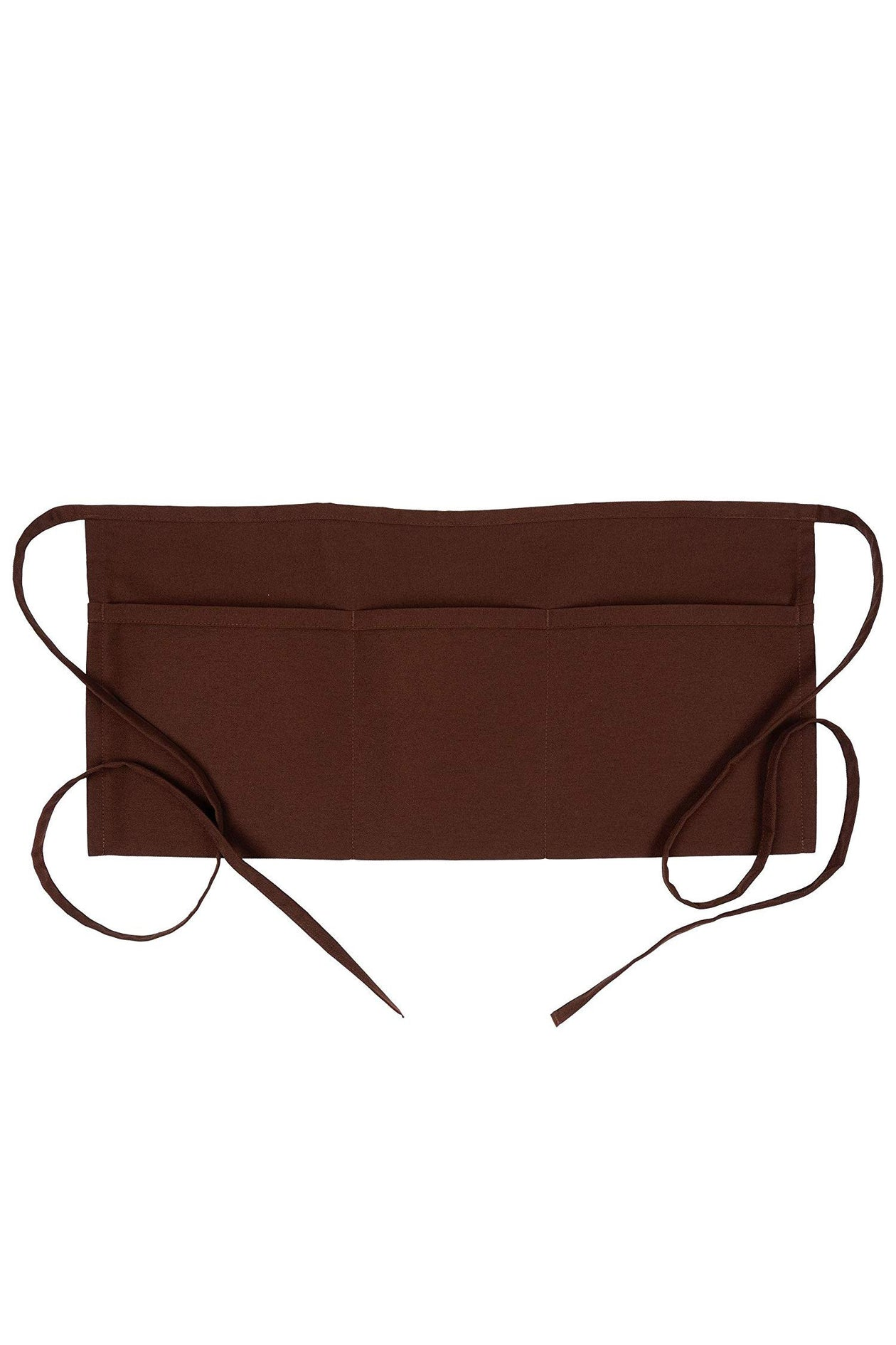 Brown Waist Apron (3 Pockets)