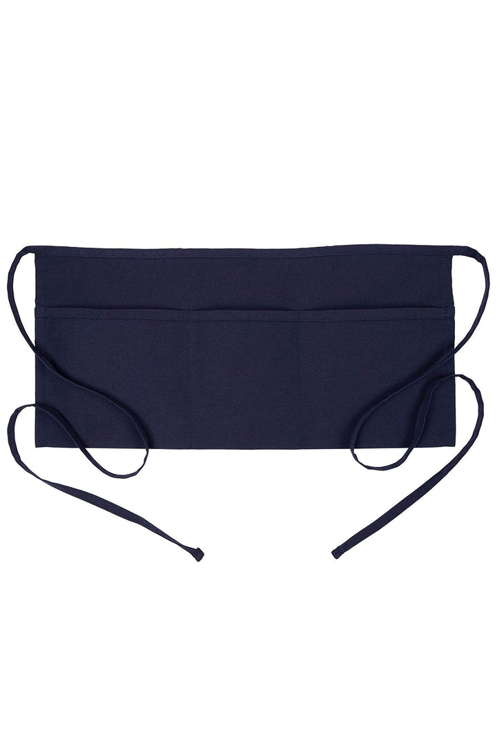 Navy Waist Apron (3 Pockets)