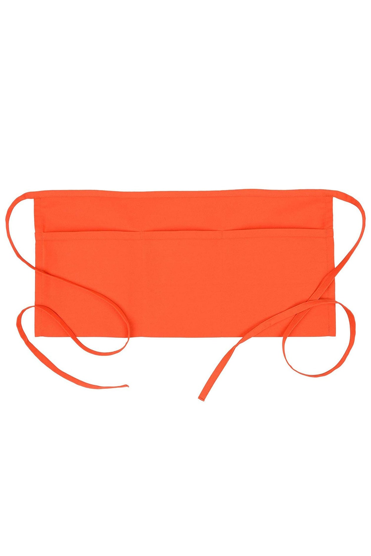 Orange Waist Apron (3 Pockets)
