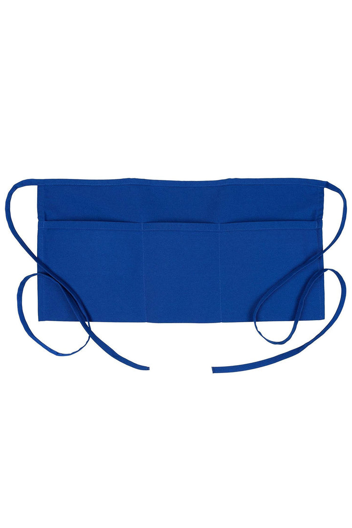 Royal Blue Waist Apron (3 Pockets)