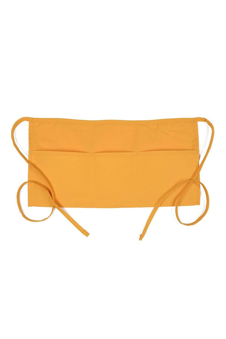 Yellow Waist Apron (3 Pockets)