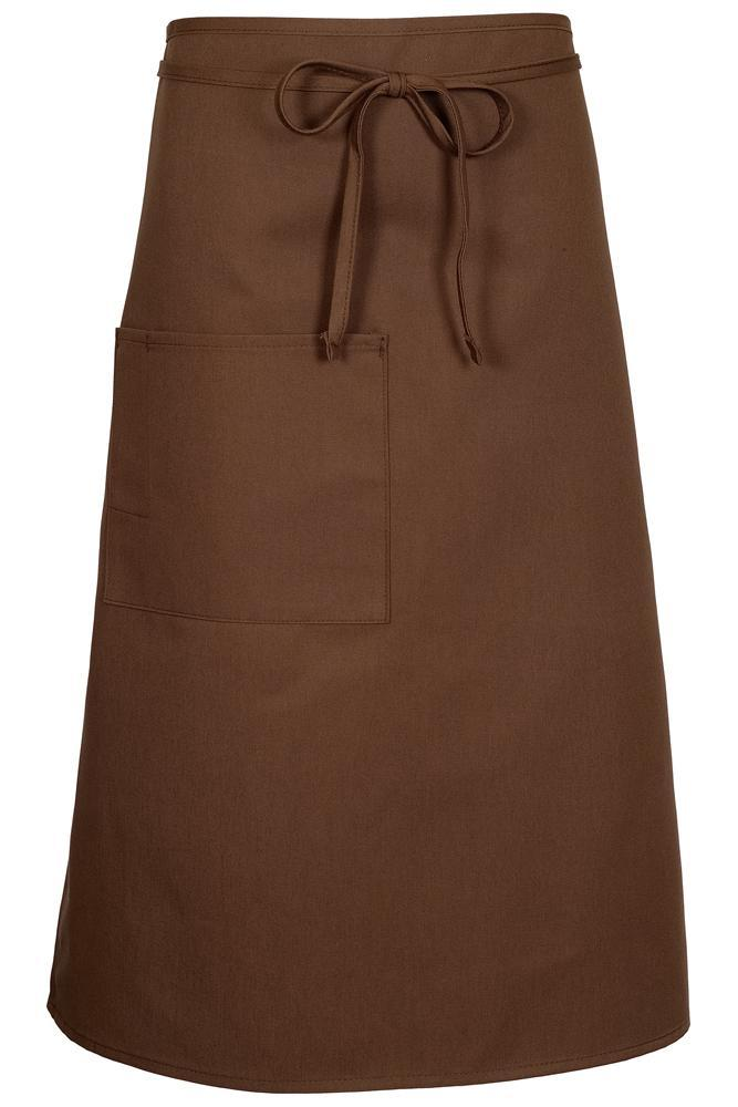 Mocha Bistro Apron (1 Pocket w/ Pencil Divide)