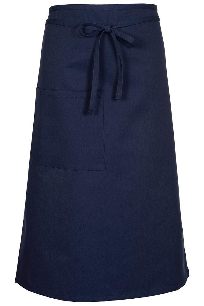 Navy Bistro Apron (1 Pocket w/ Pencil Divide)