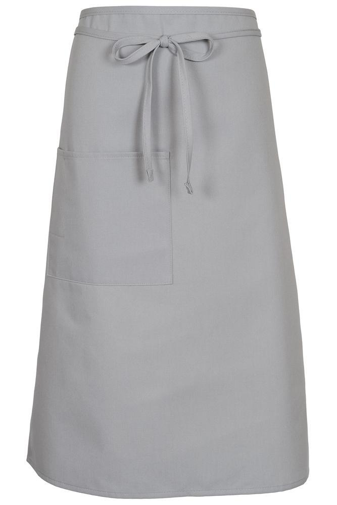 Silver Bistro Apron (1 Pocket w/ Pencil Divide)