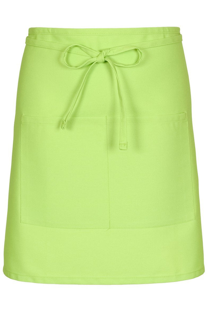 Lime Half Bistro Apron (2 Patch Pockets)