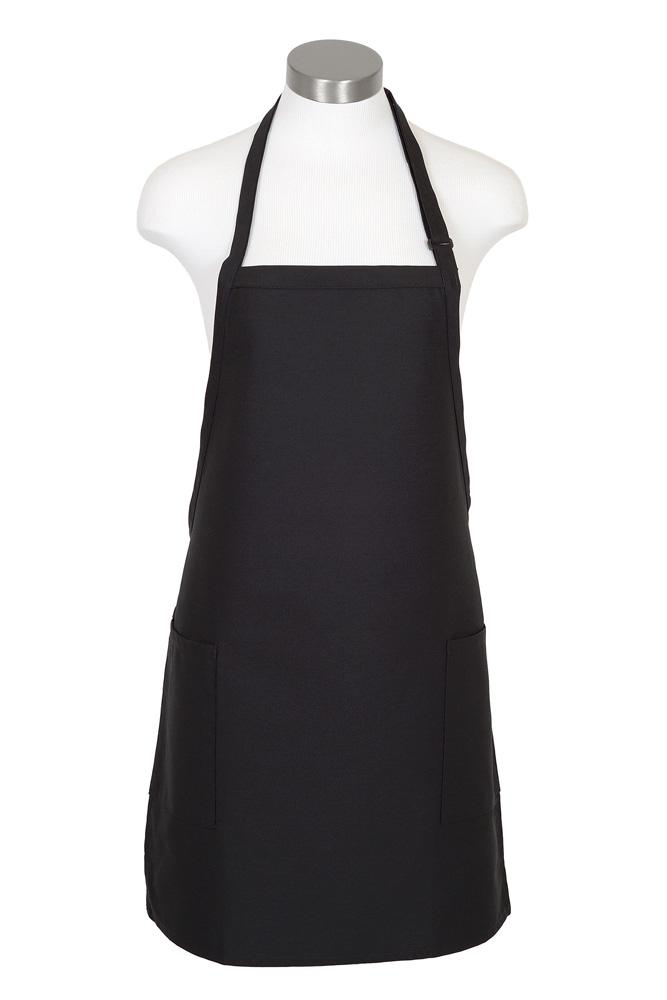 Bib Adjustable Apron (2-Patch Pockets)