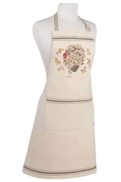 Holiday Turkey Modern Apron