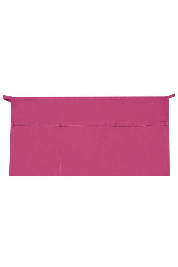 Hot Pink XL Waist Apron (3 Pockets)