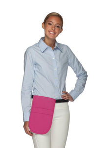 Hot Pink Money Pouch Apron
