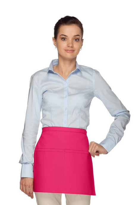 Hot Pink Square Waist Apron