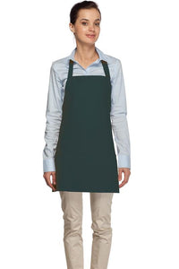 Hunter Green 3 Pocket Bib Apron