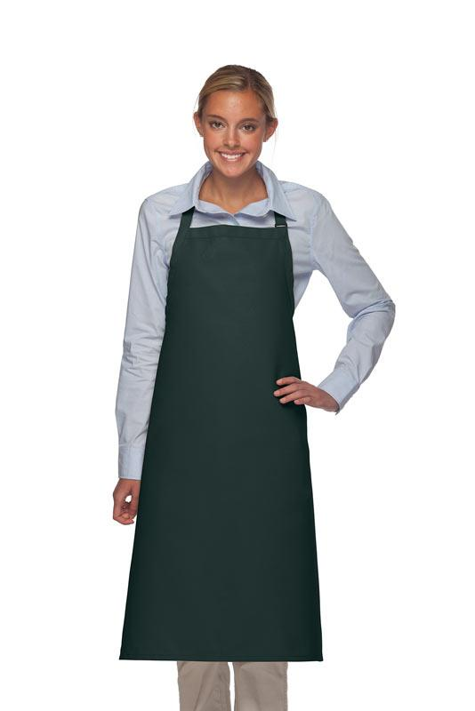 Hunter Green No Pocket Adjustable XL Butcher Apron