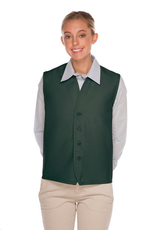 Hunter 4-Button Unisex Vest with No Pockets