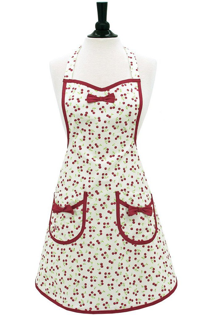 Retro Cherries Audrey Apron