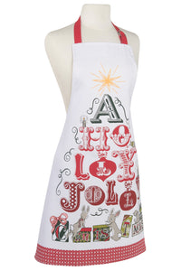 Jolly Christmas Modern Apron