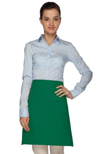 Kelly Green 2 Pocket Bistro Apron