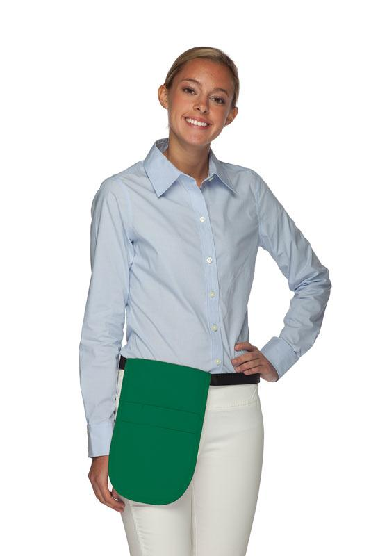 Kelly Green Money Pouch Apron
