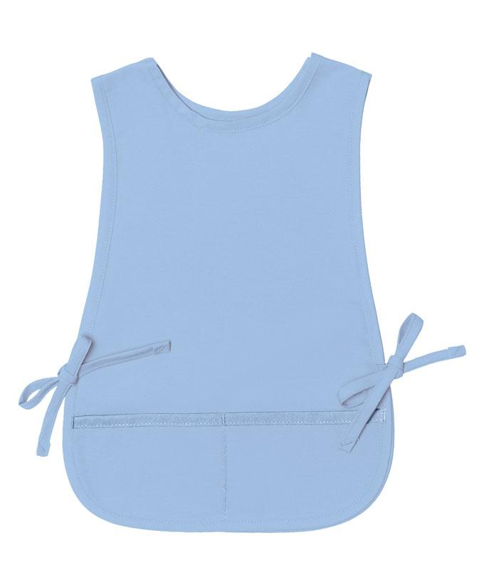 Light Blue Kid's XL Cobbler Apron (2 Pockets)