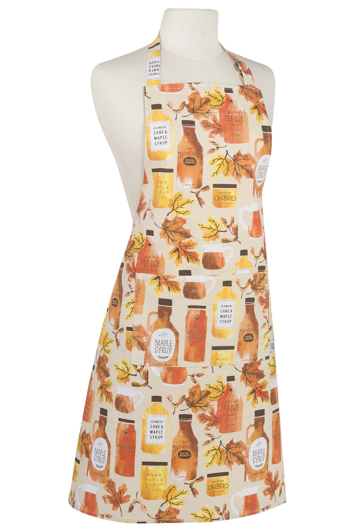Maple Syrup Modern Apron