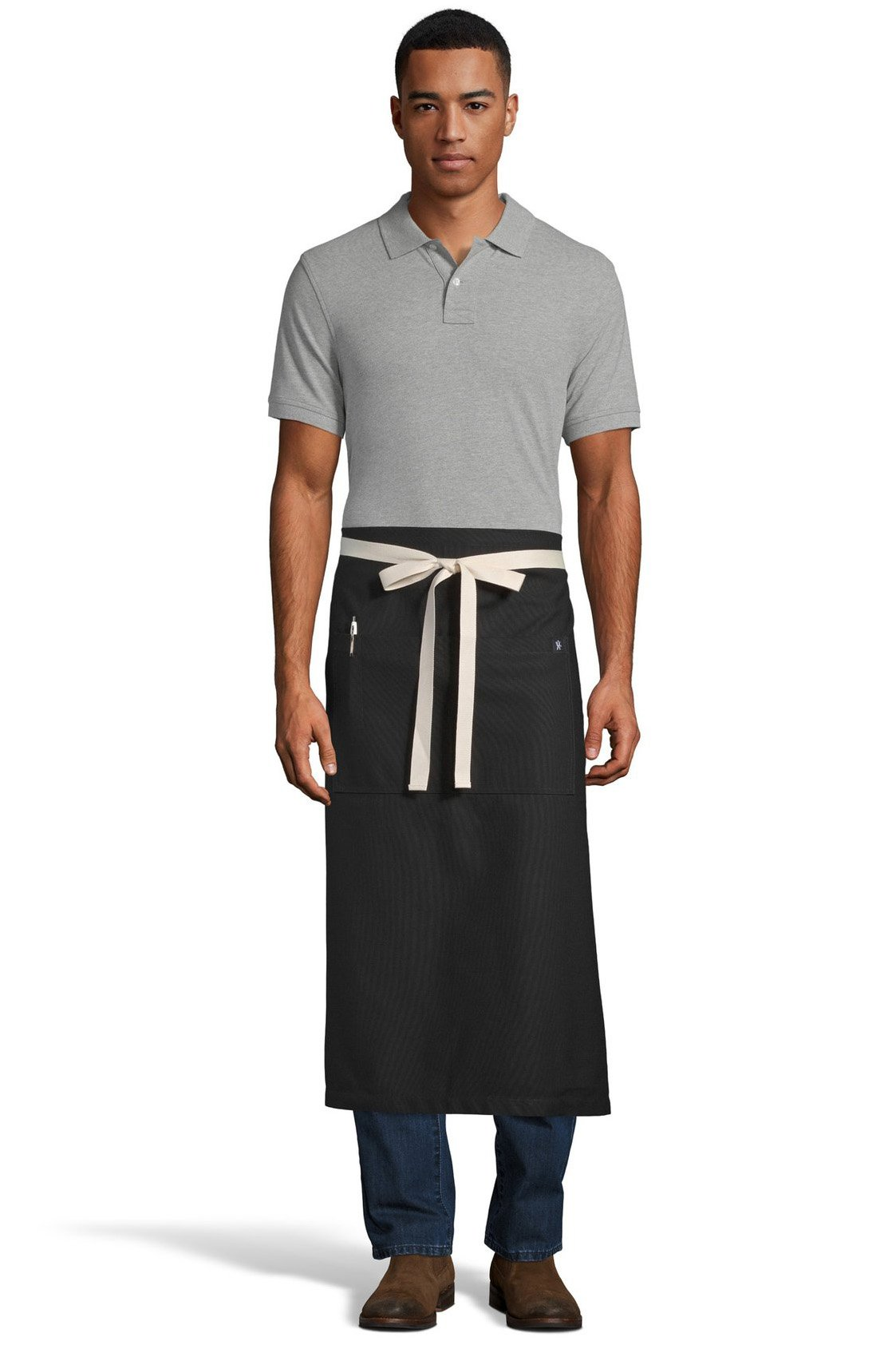 Black Marvel Bistro Apron