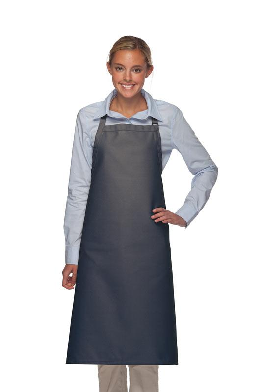 Navy No Pocket Adjustable XL Butcher Apron