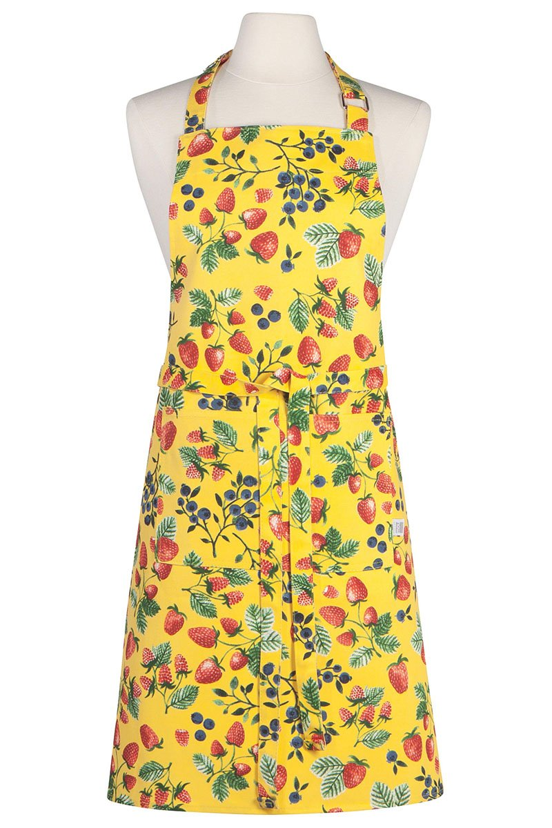 Berry Patch Modern Apron