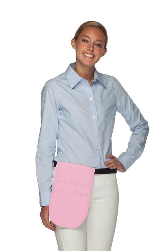 Pink Money Pouch Apron