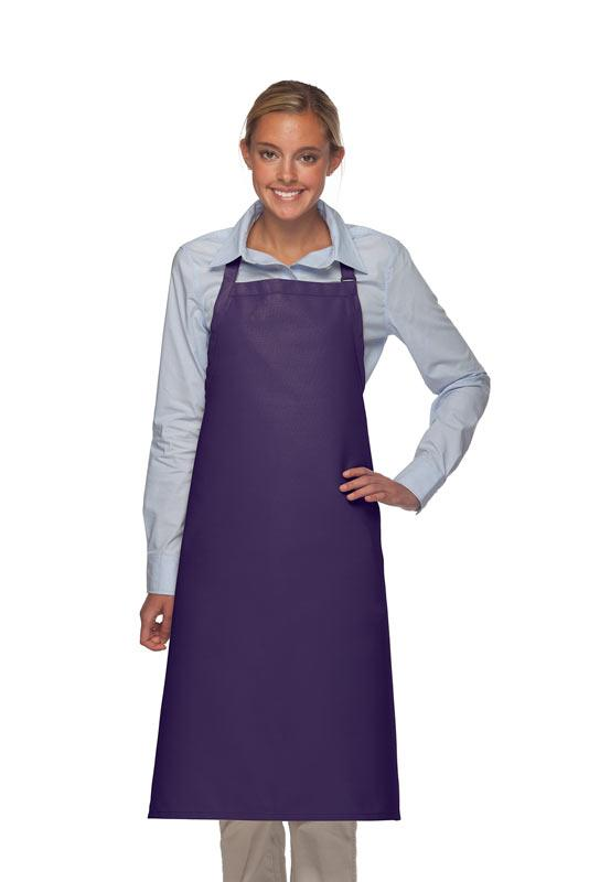 Purple No Pocket Adjustable XL Butcher Apron