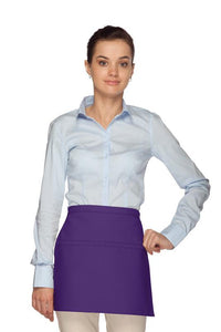 Purple Square Waist Apron