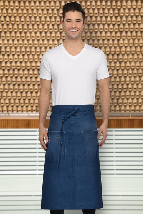 Galveston Royal Blue Bistro Apron