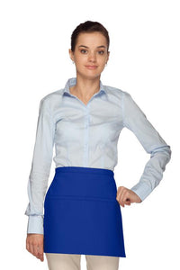 Royal Blue Square Waist Apron