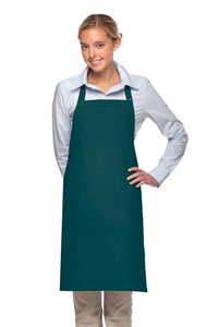 Teal 2 Patch Pocket Adjustable Bib Apron