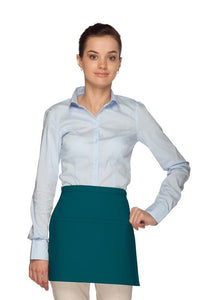 Teal Square Waist Apron