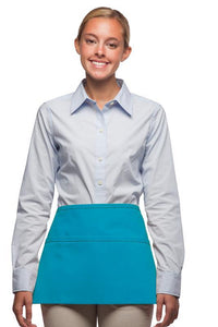 Turquoise Deluxe Waist Apron (3 Pockets)