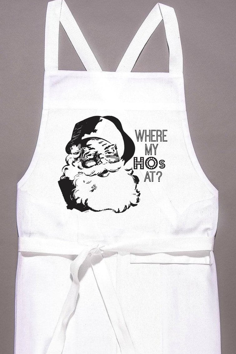 Where My Hos At? Apron