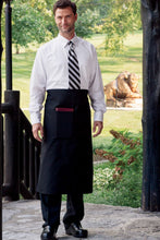 Uncommon Threads Black Reversible Full Bistro Apron (1 Pocket)
