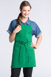 Kelly Adjustable Bib Apron (No Pockets)
