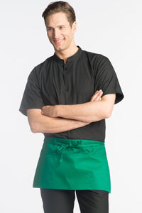 Kelly Green Waist Apron (3 Pockets)