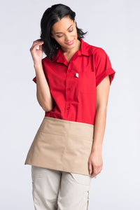 Uncommon Threads Khaki 2-Pocket Waist Apron