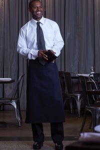 Black Bar Apron (No Pockets)