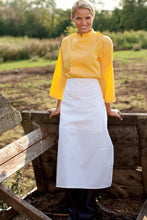 Uncommon Threads White Full Bistro Apron (3 Pockets)