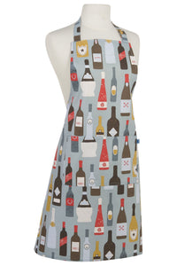 Wine Labels Modern Apron