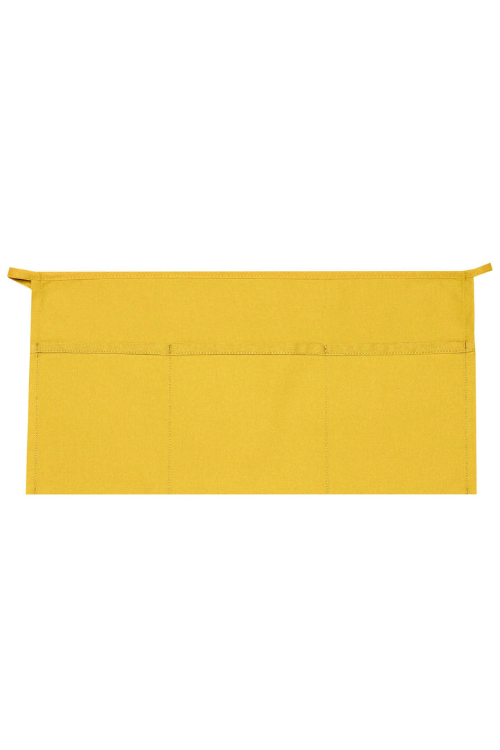 Yellow XL Waist Apron (3 Pockets)