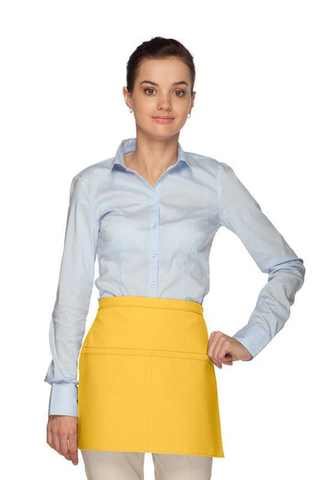 Yellow Square Waist Apron