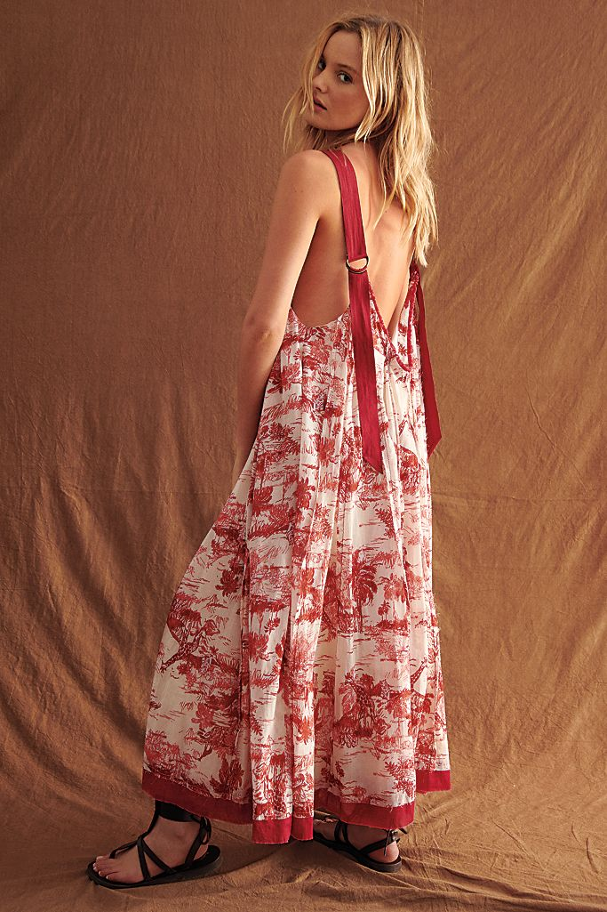 Tropical Toile Maxi