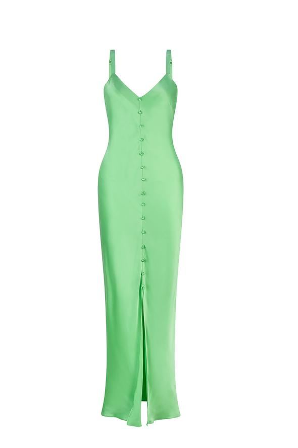 Avoca Dress - Summer Lime