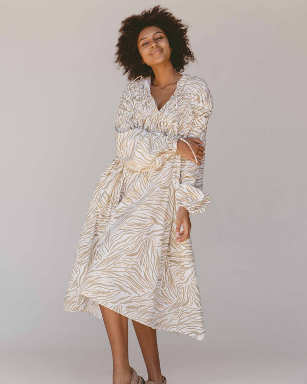 Penny Midi Smock Dress - Wilde
