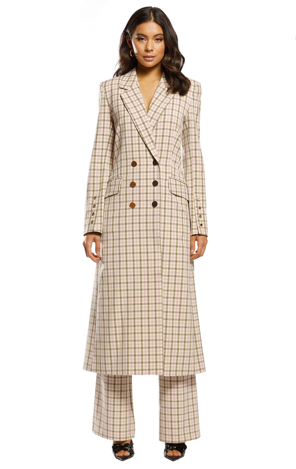 Checker Coat