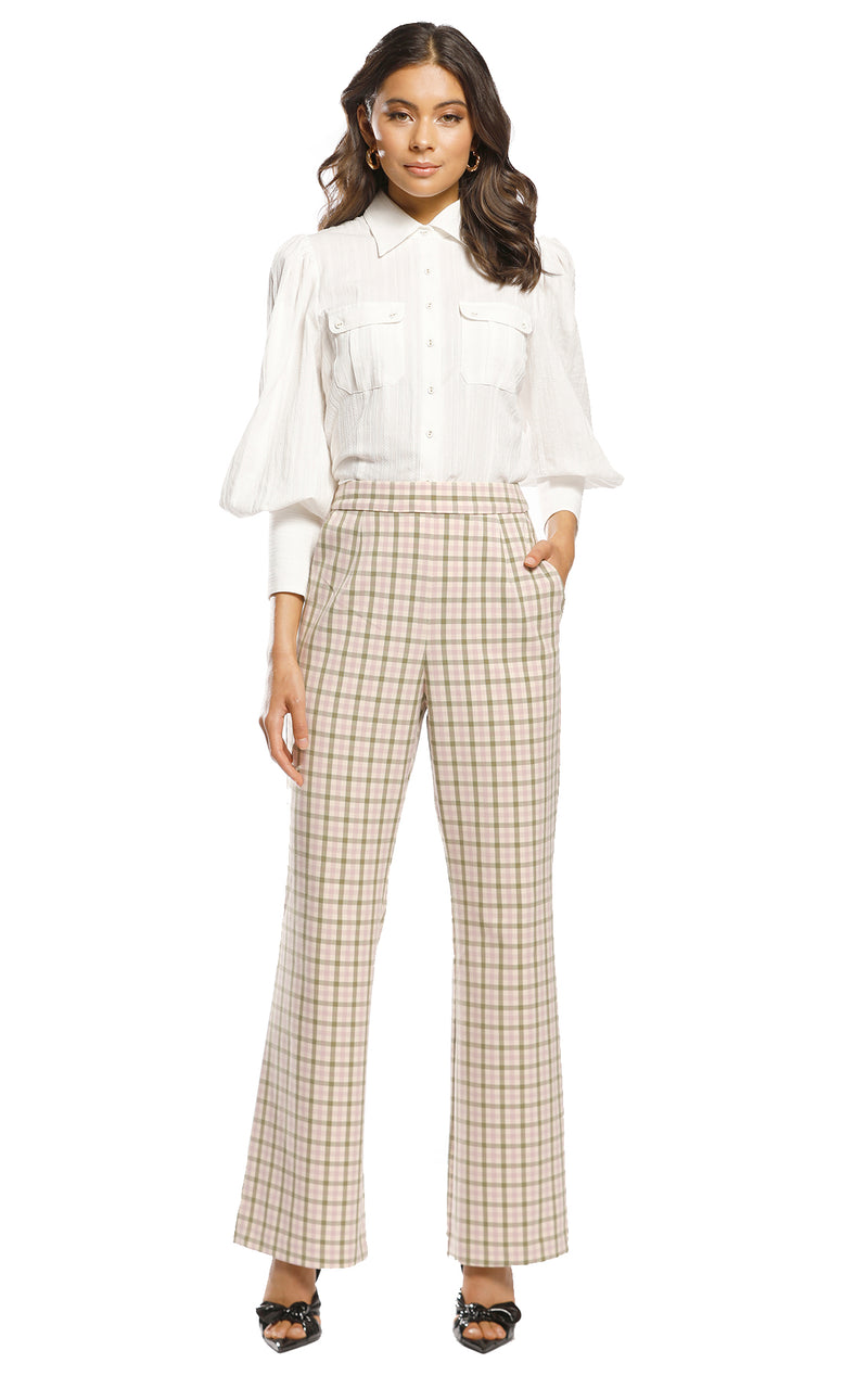 Checker Trouser
