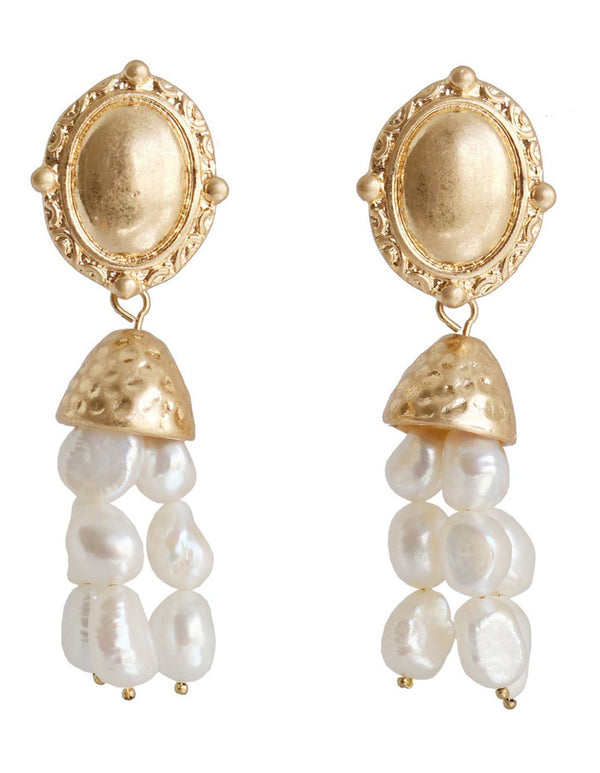 Agnes Pearl Earrings